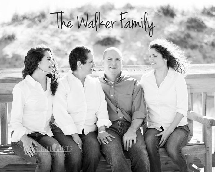 Sandbridge Virginia Beach Family Photography- the Walker Family