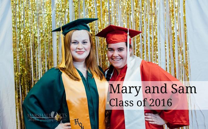 Sam and Mary's Grad Party