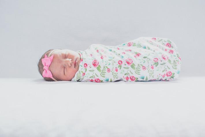 "Newborn Hospital Session- Baby ""C"""