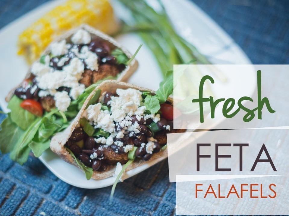 Fresh Feta Falafels