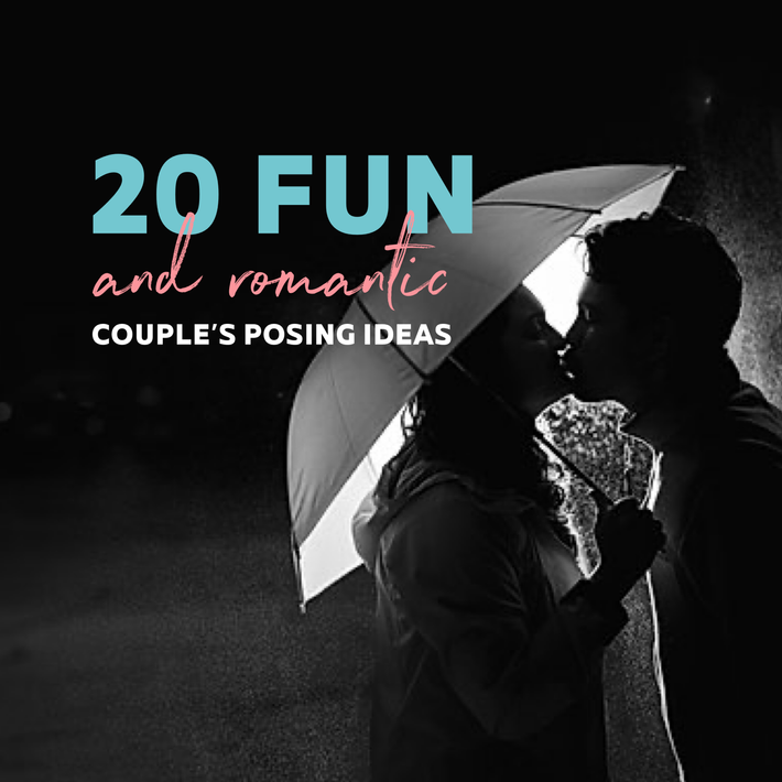 20 creative couple's posing ideas