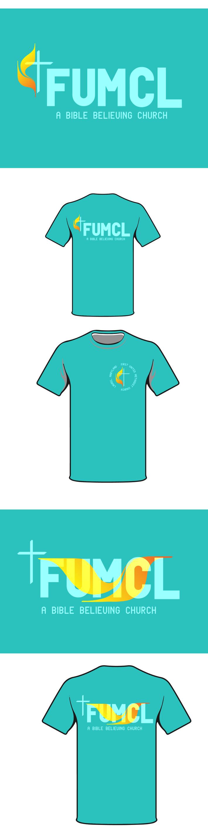 First United Methodist Church Maryland Tshirt design FUMCL