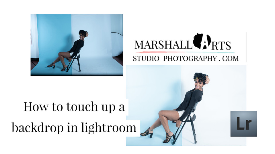 How to fix a backdrop in lightroom | virginia photos and films | Marshall Arts Studio | Chesapeake
