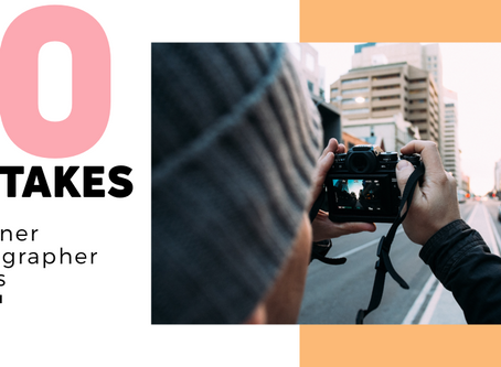 10 mistakes every beginning photographer makes