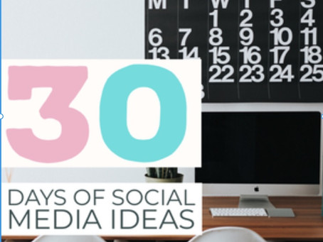 Start your year off strong with 30 social media ideas to get your clients talking