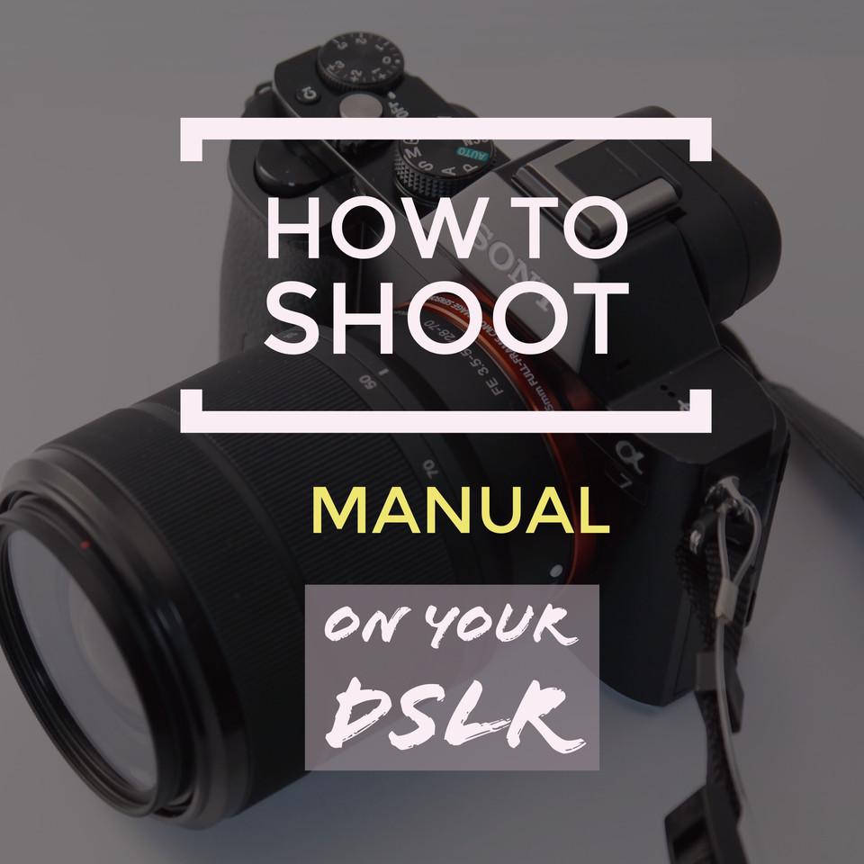How Do I Shoot Manual and Control my DSLR and Get Out of Auto.  Beginner Photography Webinar Class: