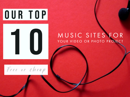 our top 10 free or cheap music sites for your photo or video project | royalty free music