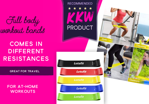 Resistance Exercise Bands for At-Home Fitness