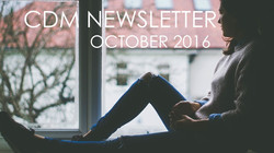CDM OCTOBER 2016: NEWSLETTER