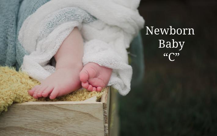 Chesapeake, VA Child and Family Photographer, Baby C Newborn session