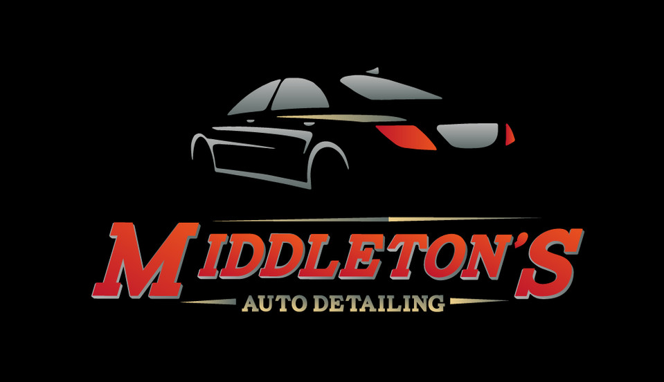 Middleton's Auto Detailing logo and tshirt design samples