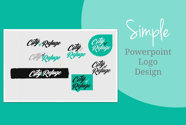 How to Graphic Design: Making a Simple Logo in Powerpoint