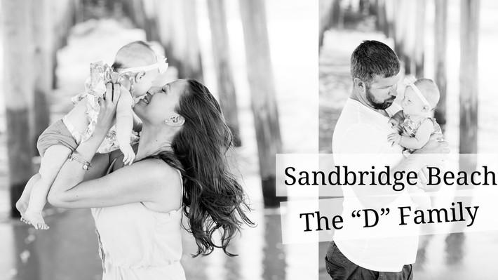 """Sandbridge, Virginia Beach, Family Portrait Session Fall, Autumn, The """"D"""" Family"""