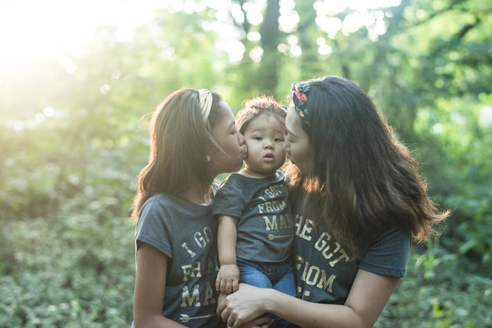 Women's Empowerment Session - Mother Daughter Photography Chesapeake Arboretum
