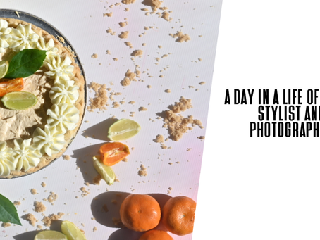 A day in a life of a food photographer and stylist