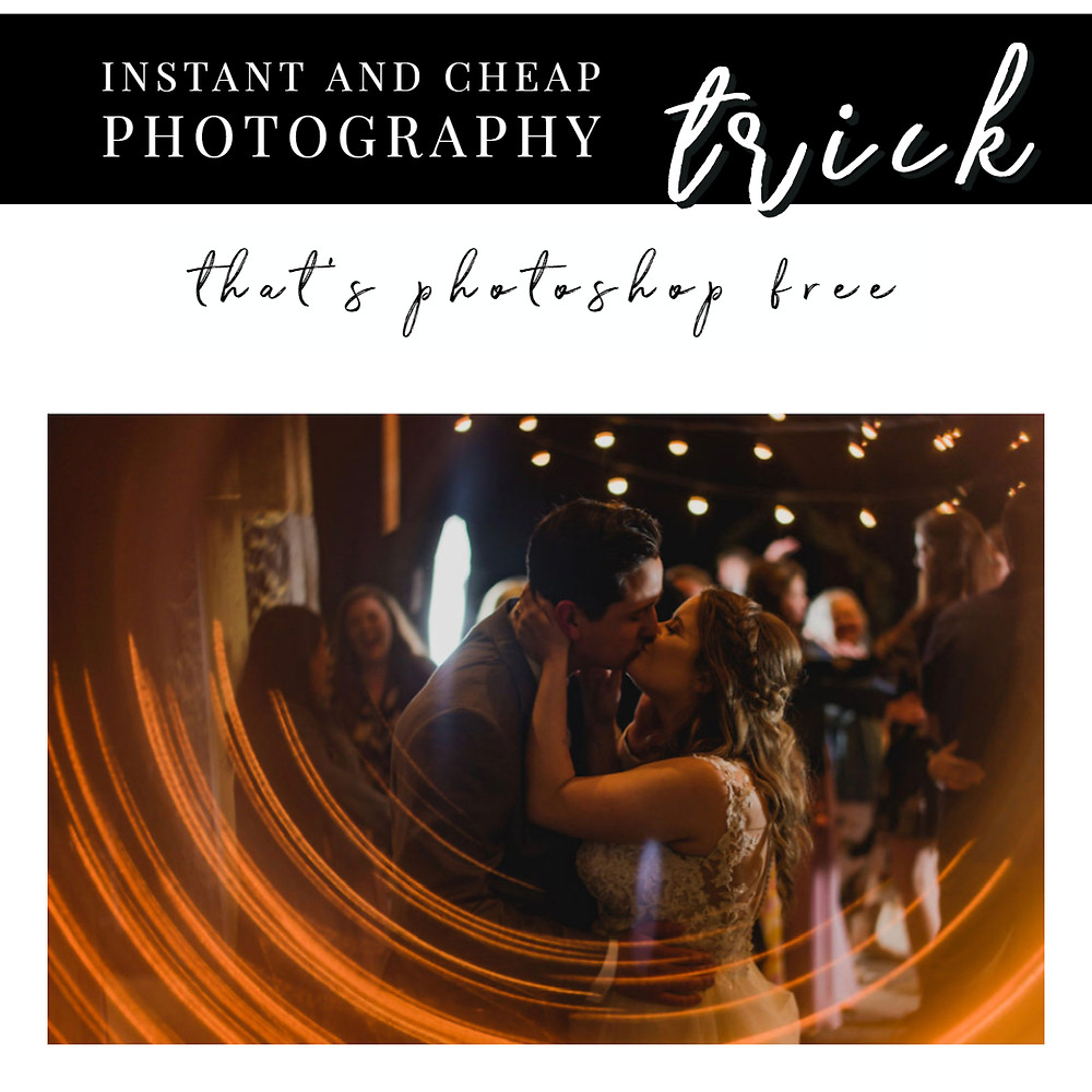instant and cheap photography trick
