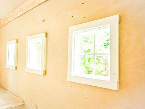 6 windows (three on each side)