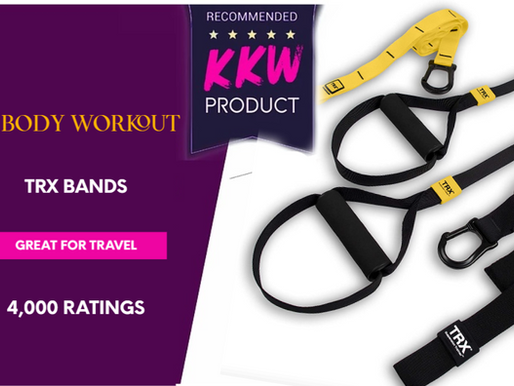 Full Body Workout Bands- great for travel or on-the-go | highly rated TRX resistance training
