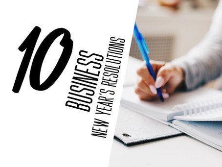 10 business New Years resolutions