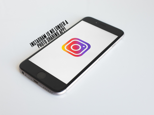 Instagram is no longer a photo sharing app