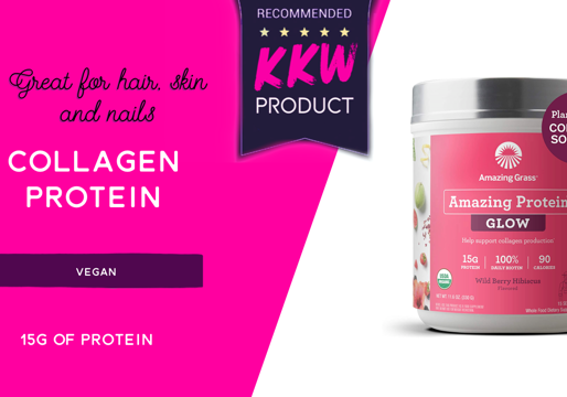 The Vegan Solution To Collagen- Super Tasty Protein great for hair, skin and nails