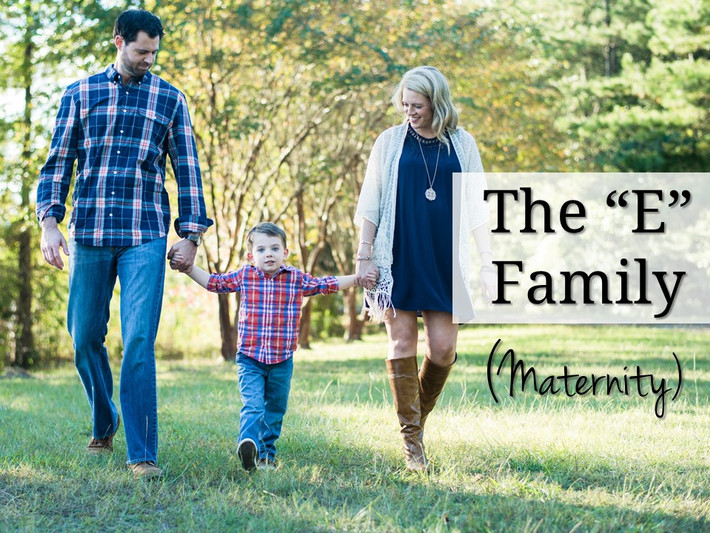 Chesapeake Virginia Oak Grove Lake Park Autumn Fall Maternity Lifestyle Family Child Session