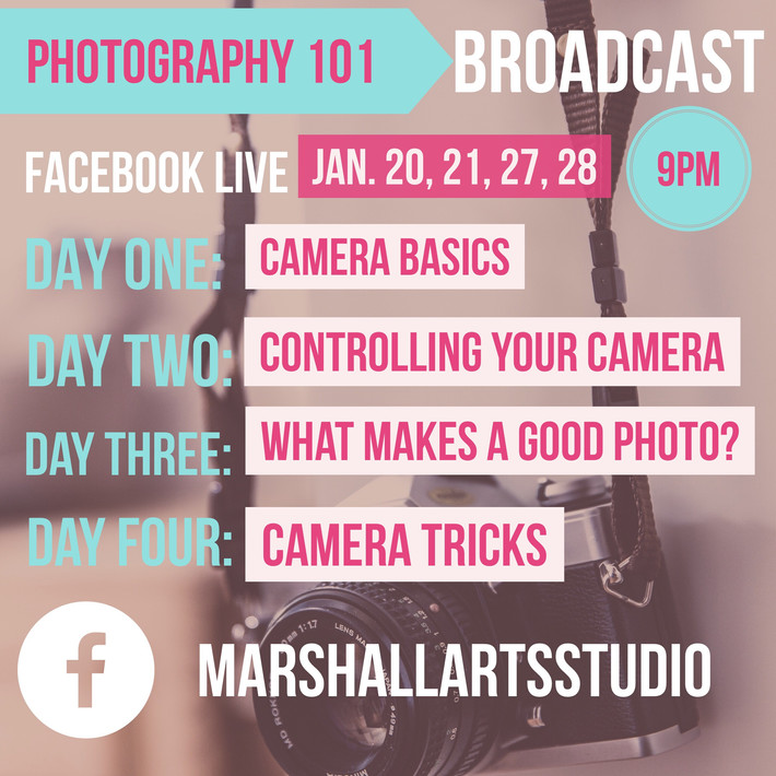 FREE photography 101 webinar!