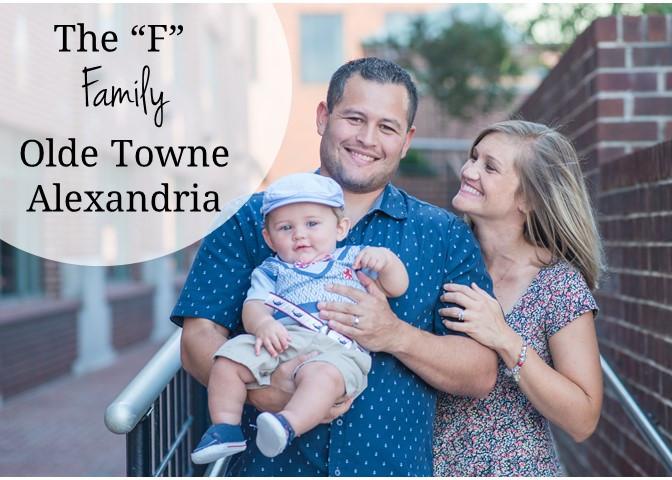 Olde Towne Chart House Alexandria, VA Family Photography