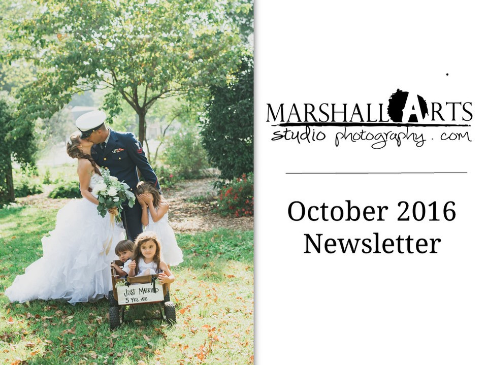 """""""Just Married... Five Years Later..."""" Marshall Arts Studio Monthly Newsletter"""