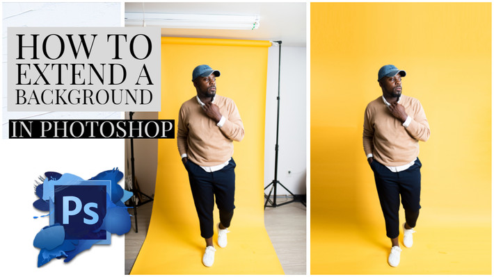 How Extend a Background in Photoshop