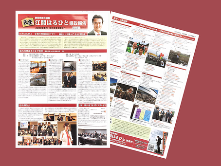 県政報告 Vol.11 発行