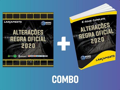 COMBO: VÍDEO + E-BOOK - ALTERAÇÕES DE REGRA 2020