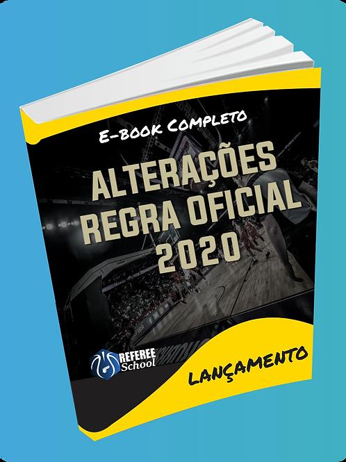 E-BOOK = ALTERAÇÕES DA REGRA OFICIAL 2020