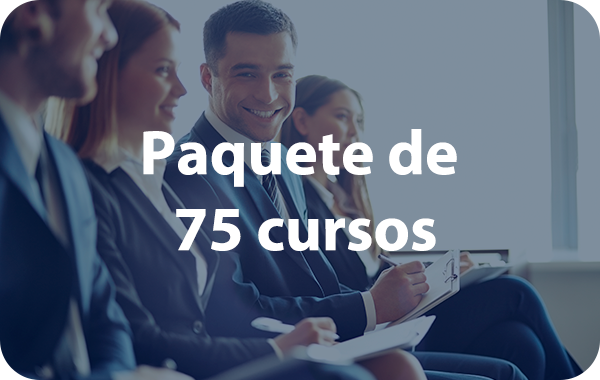 PAQUETE 75 CURSOS