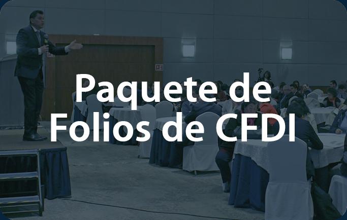 Paquete de folios de CFDI