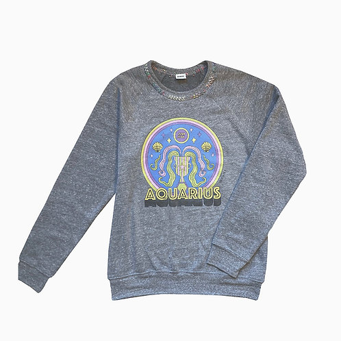 MONOKI - SWEAT-SHIRT AQUARIUS