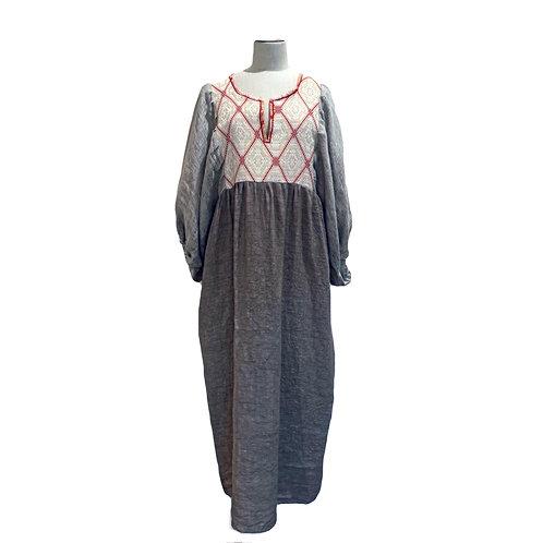 NINA LEUCA -  LONG DRESS SAND