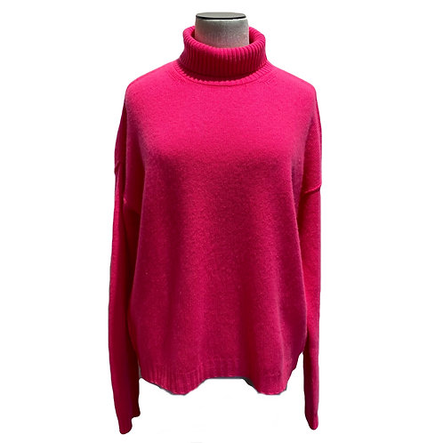 JUMPER 1234 - PULL COL ROULE