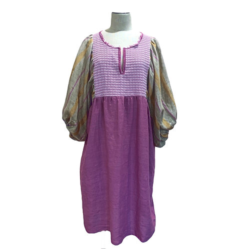 NINA LEUCA - SHORT DRESS LILAS