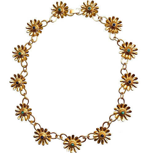 MONOKI - COLLIER FLOWERS