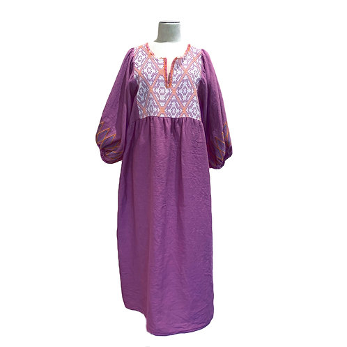 NINA LEUCA - LONG DRESS LILAS
