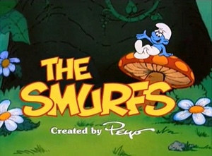 Smurfy-day Mornings of the 1980's