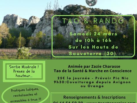 Nouvelle Journée Tao Rando : Sortie Minérale