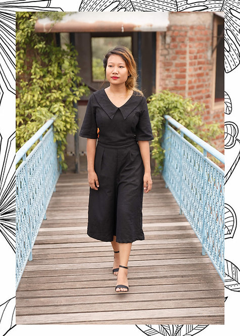 FLY HIGH CULOTTES JUMPSUIT