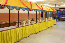 Buffet food stall