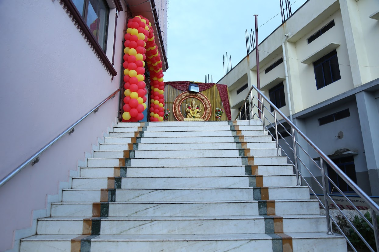 Stairs to Hall