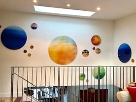 Circle Art wall Installation
