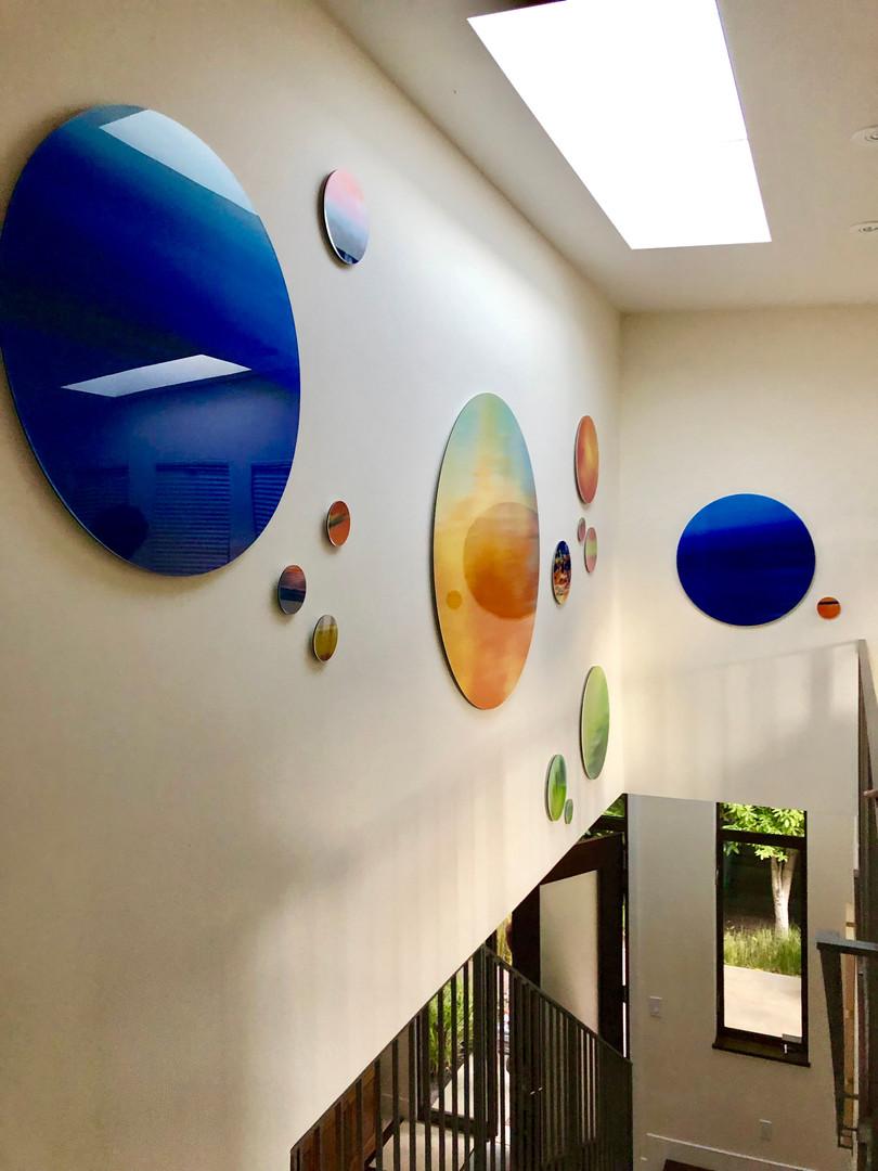 Circle Wall Installation