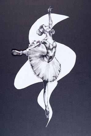 Pen on Paper Dancer