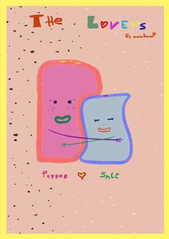 Salt & Pepper Shakers Concept Art